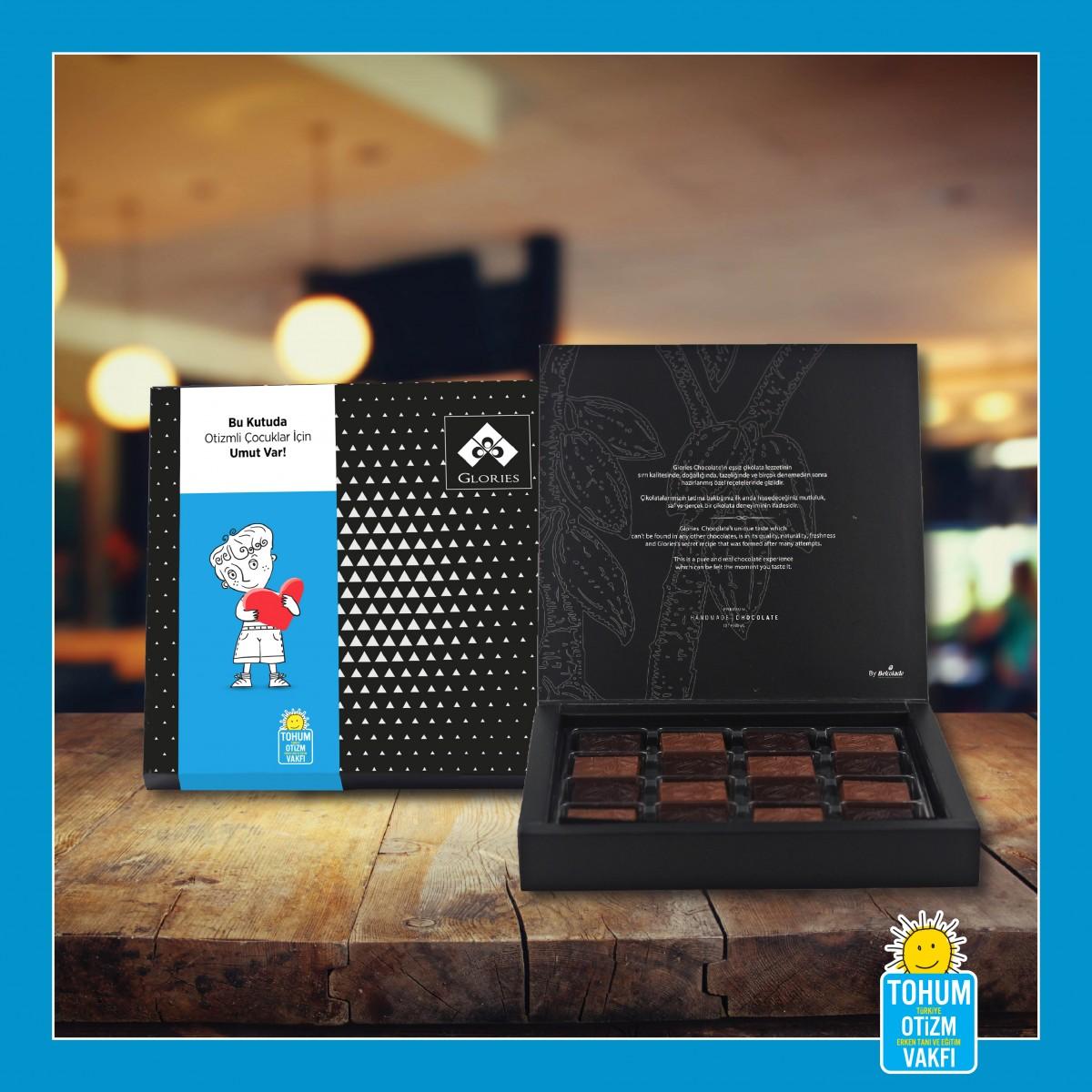 (500 gr)  Madlen Çikolata TOHUM