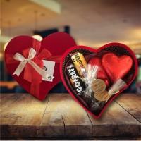 (380 gr) Kalp Dolusu Çikolata