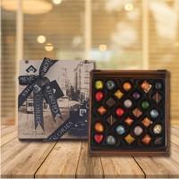 (300 gr) Beyoğlu Ahşap Kutu Spesiyal Çikolata