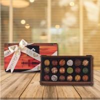 (270 gr) Kız Kulesi Ahşap Kutu Trüf Çikolata