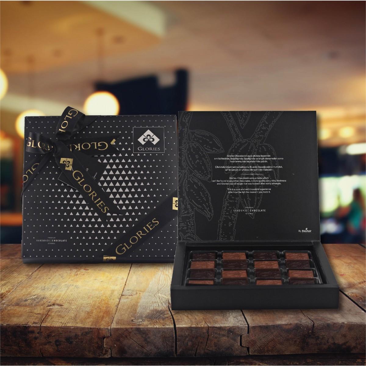 (312 gr) Siyah İnci Madlen Çikolata
