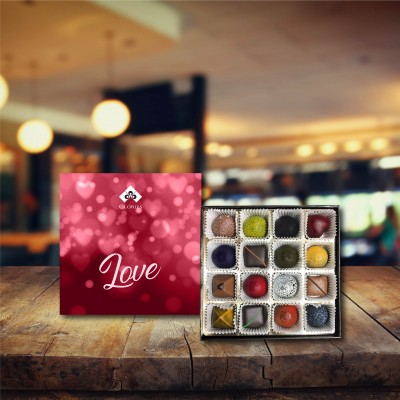 (160 gr)  Aşk İncisi Spesiyal Çikolata