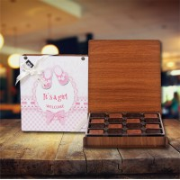 (312 gr) Kız Bebek Madlen Çikolata