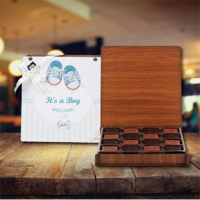 (312 gr) Erkek Bebek Madlen Çikolata