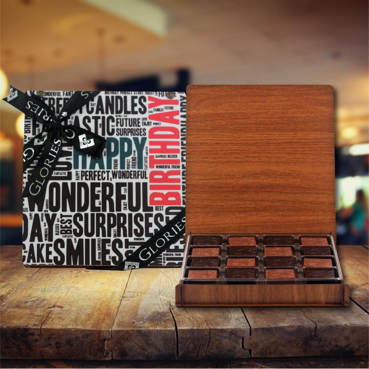 (312 gr) Doğum Günü Madlen Çikolata