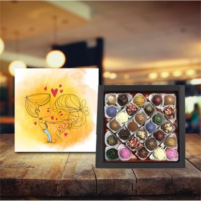 (450 gr) Sevgililer Trüf Çikolata