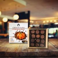 Sütlü-Bitter Çikolatalı Çıtır Balkabağı