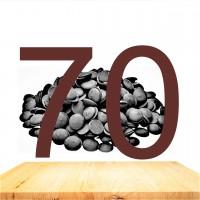 (250gr) %70 Kakao Belçika Çikolatası