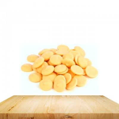 (250gr) Portakallı Beyaz Belçika Çikolatası